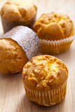 Corn muffins. A shot of fresh corn muffins Stock Images