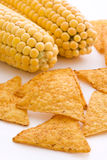 Corn with Nachos Royalty Free Stock Image