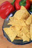 Corn nachos Royalty Free Stock Images