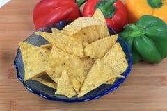 Corn nachos Royalty Free Stock Photography