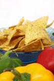 Corn nachos Stock Photography