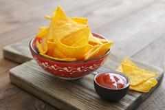 Corn nachos Stock Image