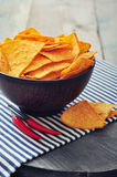 Corn nachos Royalty Free Stock Photos