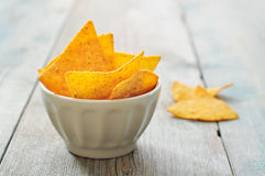 Corn nachos Royalty Free Stock Images