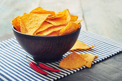 Corn nachos Royalty Free Stock Photography