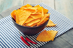 Corn nachos Stock Images