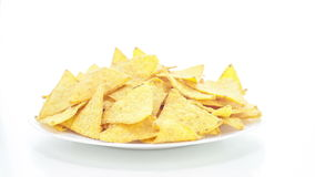 Corn Nachos Stock Photography