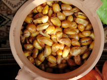 Corn nuts mote Stock Photos