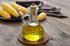 Corn oil Stock Image