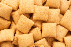Corn pads close-up. Cereals. Royalty Free Stock Images