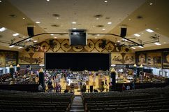 Corn Palace Auditorium, South Dakota. MITCHELL, SOUTH DAKOTA - JUNE 22, 2017: The Corn Palace Auditorium. Built in 1892 as a way for farmers to display their royalty free stock photos