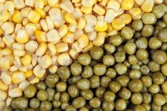 Corn & Peas Stock Photo
