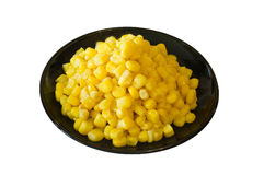 Corn on a plate Royalty Free Stock Images