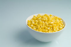 Corn plate Stock Image