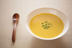Corn potage Stock Image