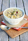 Corn and Potato Chowder Royalty Free Stock Images