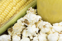 Corn and products Royalty Free Stock Images