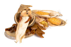Corn puppet Stock Photo