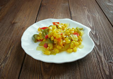 Corn relish Stock Photography