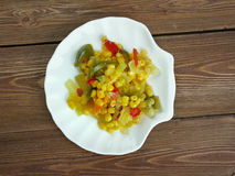 Corn relish Royalty Free Stock Photography