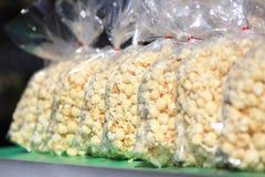 Corn Row Royalty Free Stock Photo