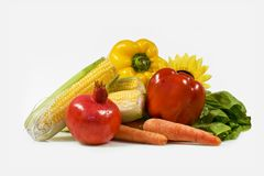Corn for salad. Dietary products for tasty salad Royalty Free Stock Photography