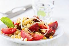 Corn salad Royalty Free Stock Image