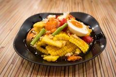 Corn salad Royalty Free Stock Photos
