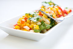 Corn salsa Royalty Free Stock Photography