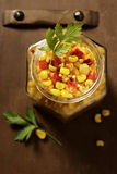 Corn Salsa Royalty Free Stock Photo