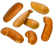 Corn sausage collection Royalty Free Stock Photos
