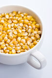 Corn seeds in a bowl Royalty Free Stock Images