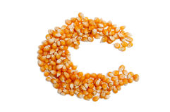Corn seeds Stock Photos