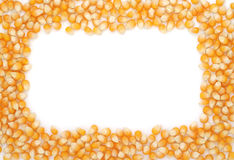 Corn seeds frame Royalty Free Stock Photography