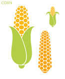 Corn. Set royalty free illustration