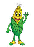 Corn Smile Character Stock Photos