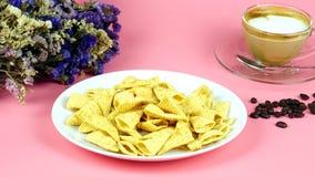 Corn snack Stock Photo