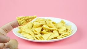 Corn snack Stock Images