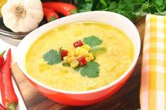 Corn soup Stock Photos