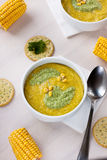 Corn soup Stock Photography