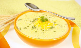 Corn soup Royalty Free Stock Photo