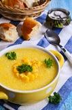 Corn soup Stock Photography