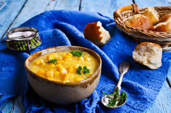 Corn soup Royalty Free Stock Images