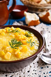 Corn soup Royalty Free Stock Photos