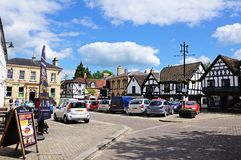 Corn Square, Leominster. Royalty Free Stock Photos