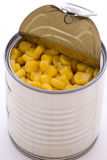 Corn in Tin Royalty Free Stock Photos