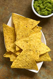 Corn Tortilla Chips Stock Images
