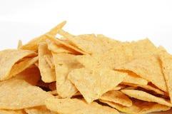 Corn tortilla chips Stock Photos