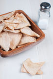 Corn tortilla chips nachos Royalty Free Stock Image