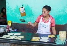 Corn tortilla dough factory Stock Photography